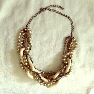 Lia Sophia multi layered necklace
